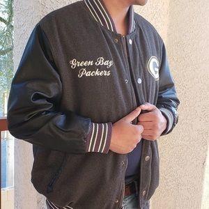 Green Bay Packers Varsity Jacket